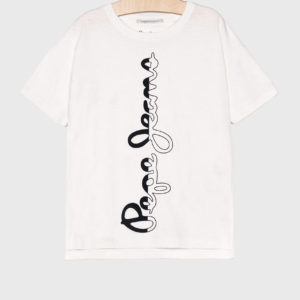 T-SHIRT BORIS WHITE JR PEPE JEANS