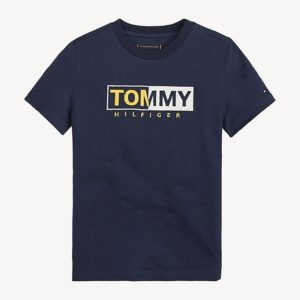 T-SHIRT GRAPHIE EMBRODERIED TOMMY HILFIGER
