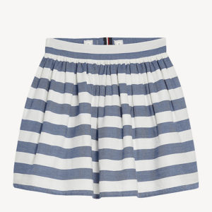 SPÓDNICA ICONIC CHAMBRAY TOMMY HILFIGER