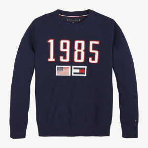 SWETER EMBROIDERED FLAG TOMMY HILFIGER