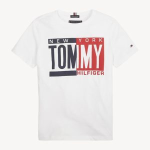 T-SHIRT PUFF PRINT TEE TOMMY HILFIGER