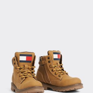 BUTY LACE-UP BOOTIE TOMMY HILFIGER