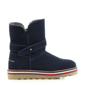 BOTKI BOOTIES BLUE TOMMY HILFIGER