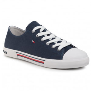 TRAMPKI LOW CUT LACE-UP TOMMY HILFIGER