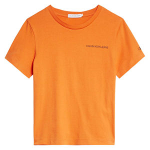 T-SHIRT CHEST LOGO CALVIN KLEIN