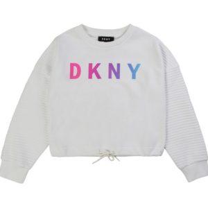 BLUZA SWEATSHIRT WHITE DKNY