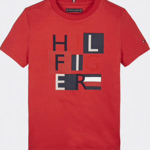 T-SHIRT TD MSW SQUARES TEE TOMMY HILFIGER