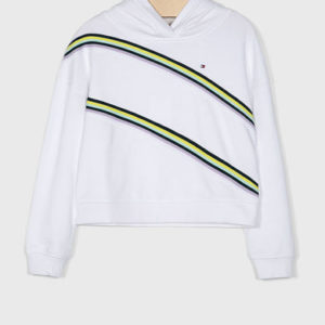BLUZA KNITTED TAPE HOODIE TOMMY HILFIGER