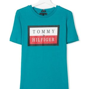 T-SHIRT LOGO TEE EXOTIC TOMMY HILFIGER