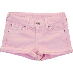 SZORTY WASHED BERRY PEPE JEANS
