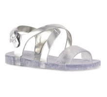 SILVER JELLY SANDALS COLORS OF CALIFORNIA