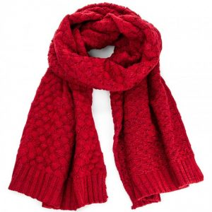 SZALIK BECKY SCARF RED PEPE JEANS