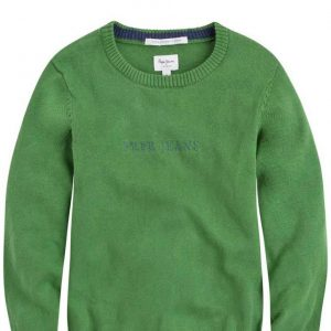 SWETER NICK GREEN MAT PEPE JEANS