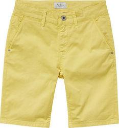 krotkie-spodenki-joe-short-yellow-pepe-jeans