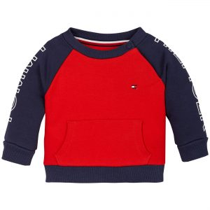 BLUZA COLORBLOCK TWILIGHT NAVY TOMMY HILFIGER