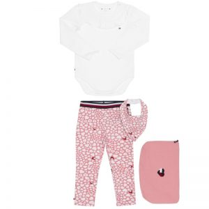 ZESTAW BABY GIRL HEART GIFTPACK TOMMY HILFIGER