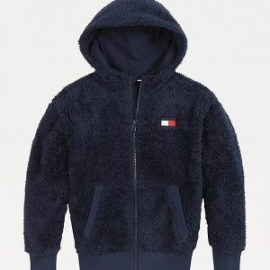 BLUZA TEDDY HOODED TOMMY HILFIGER