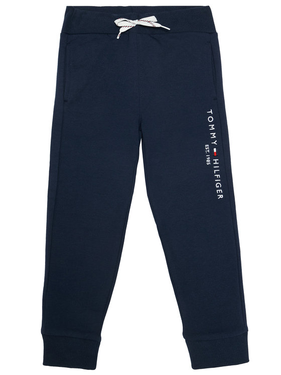 SPODNIE DRESOWE ESSENTIAL TWILIGHT NAVY TOMMY HILFIGER