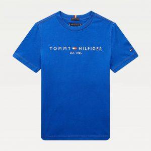 T-SHIRT ESSENTIAL BLUE TOMMY HILFIGER